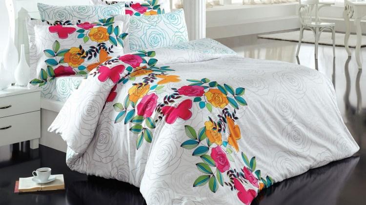 Câteva lenjerii de pat care vor aduce primăvara mai repede