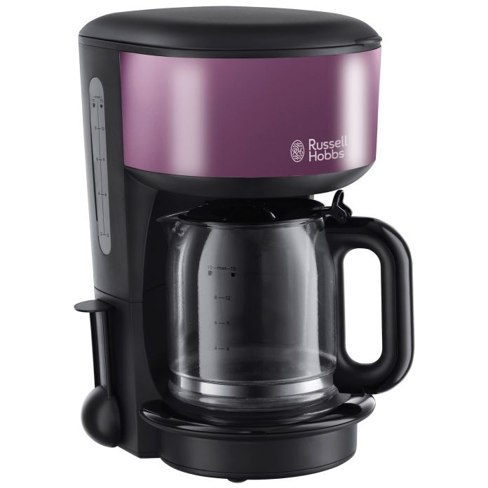 Cafetiera Russell Hobbs Purple Passion 20133-56, 1000 W, 1.25l, 10 cesti