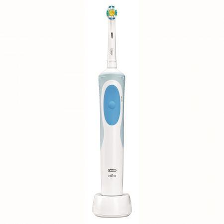 Periuta de dinti electrica Oral-B Vitality D12-513 3D White, 7600 Oscilatii/min, Alb/Albastru
