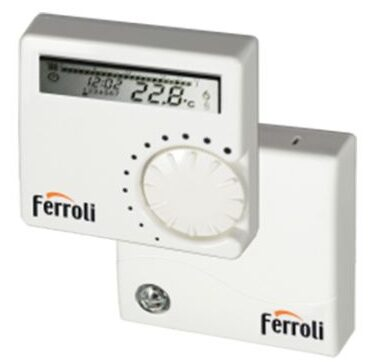 Termostat digital programabil wireless Ferroli FER 9