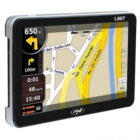 "Sistem de navigatie PNI L807, diagonala 7.0"", 8GB, FM transmitter, Fara Harta"