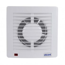 Ventilator casnic ELICENT E-style 120, Clapeta antiretur, Fabricatie Italia, Debit 165 mc/h, Garantie 5 ani