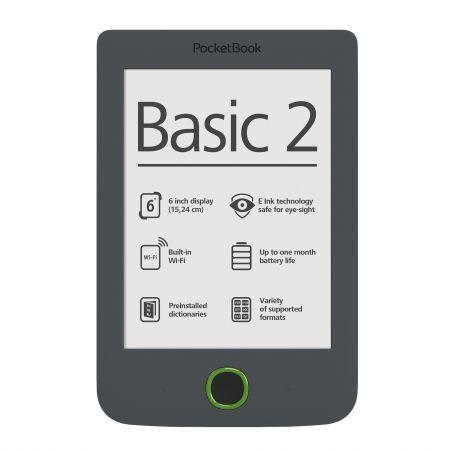 eBook Reader Pocketbook Basic 2, 4GB, Gri