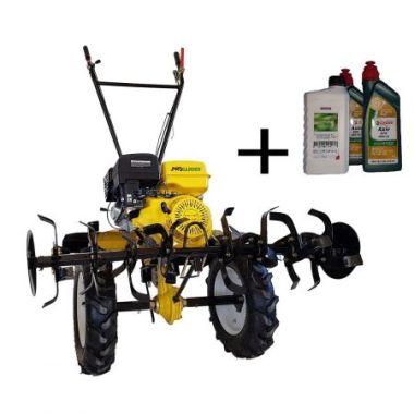 Motocultor PROGARDEN HS1100 D - 13 CP benzina - ROTI MARI 5.00X12 + GRATUIT KIT ULEIURI