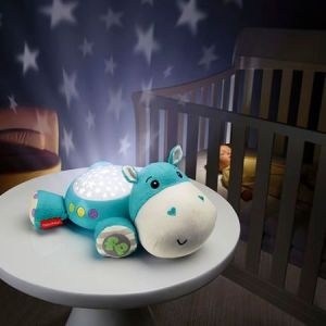 Lampa de veghe Fisher-Price - Proiector Hipopotam