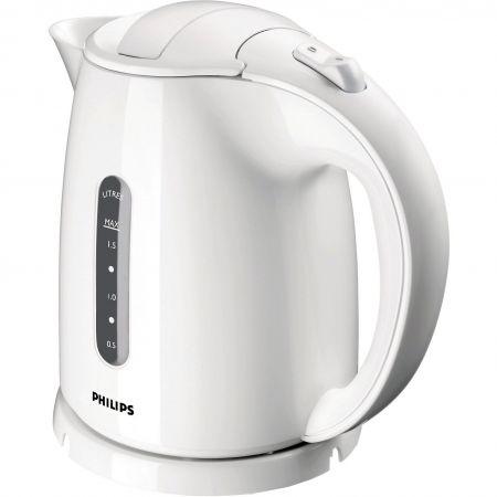 Fierbator cordless Philips HD464600, 2400 W, 1.5 l, Alb