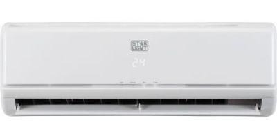 Aparat de aer conditionat Star-Light ACM-09BIN, Inverter, 9000 BTU, Clasa A++, Display, Alb, Kit instalare inclus