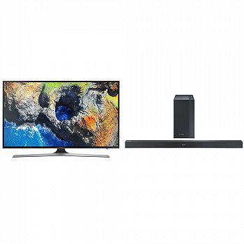 Pachet promo Televizor Smart LED, Samsung 50MU6102, 125 cm, Ultra HD 4K Soundbar Samsung HW-K450 EN, 300W, Bluetooth