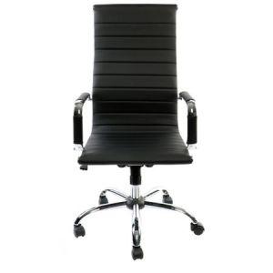 Scaun de birou ergonomic Kring Lear Fit, PU, negru