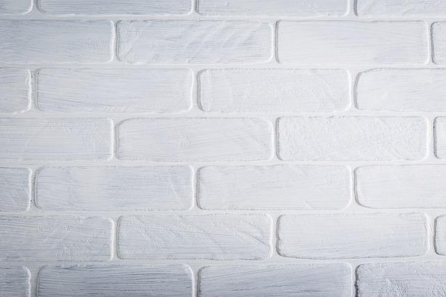 perete alb