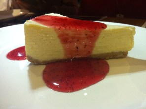 Authentic NY cheese cake