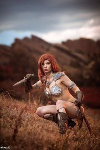 Cosplay Red Sonja 02