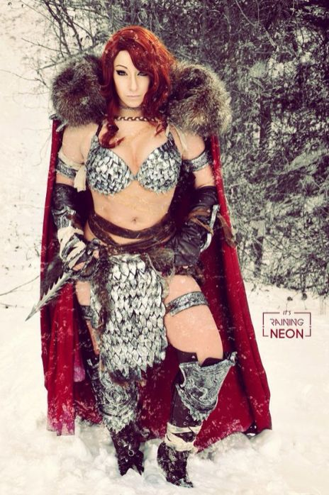 Cosplay Red Sonja 04