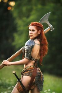 Cosplay Red Sonja 06