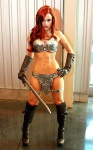 Cosplay Red Sonja 10