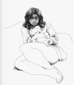 Crumb sketchbook woman