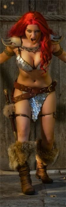 Red Sonja Cosplay Tabitha Lyons
