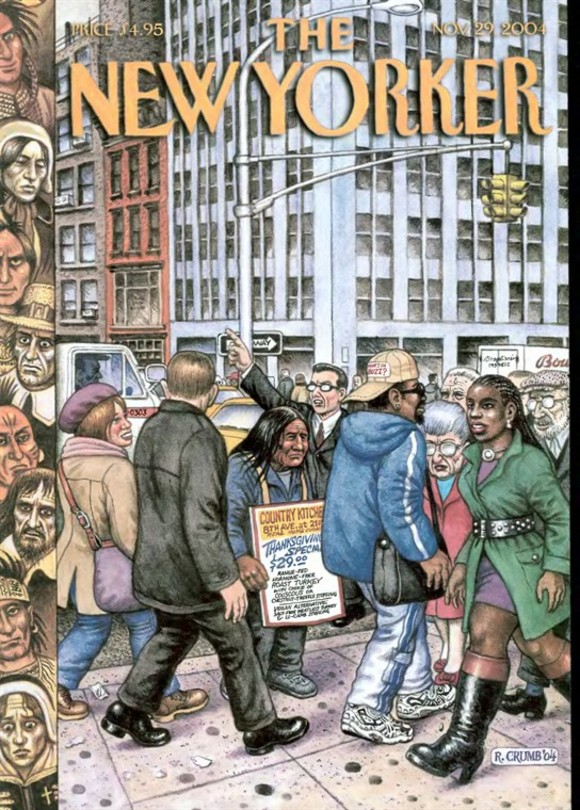 Robert Crumb cover for The New Yorker