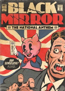 Butcher Bill Black Mirror national anthem