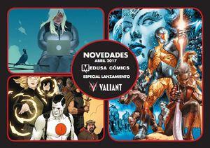 Medusa Comics Lanzamiento Valiant