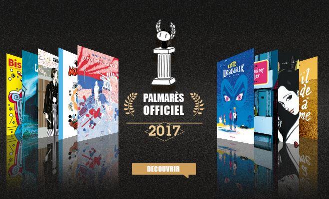 Ganadores de los Premios de Angoulême 2017