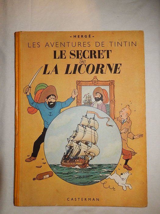 tintin la secret la licorne