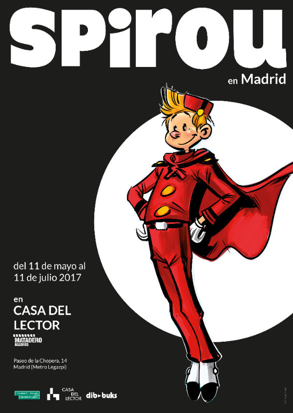 expo spirou en Madrid