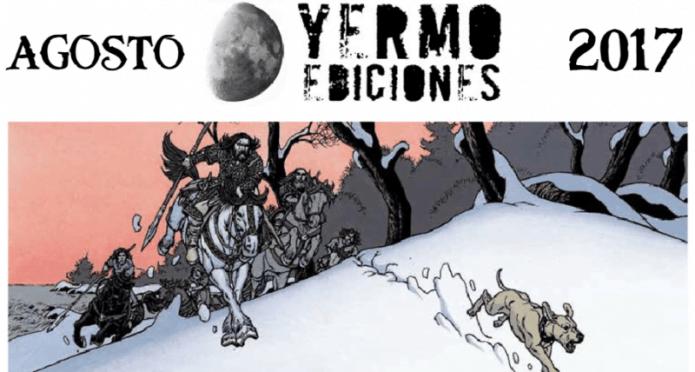 Novedades Yermo ediciones Agosto 2017