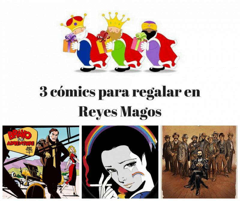 3 comics para regalar reyes magos