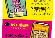 firmas mauro entrialgo feria libro madrid 2018