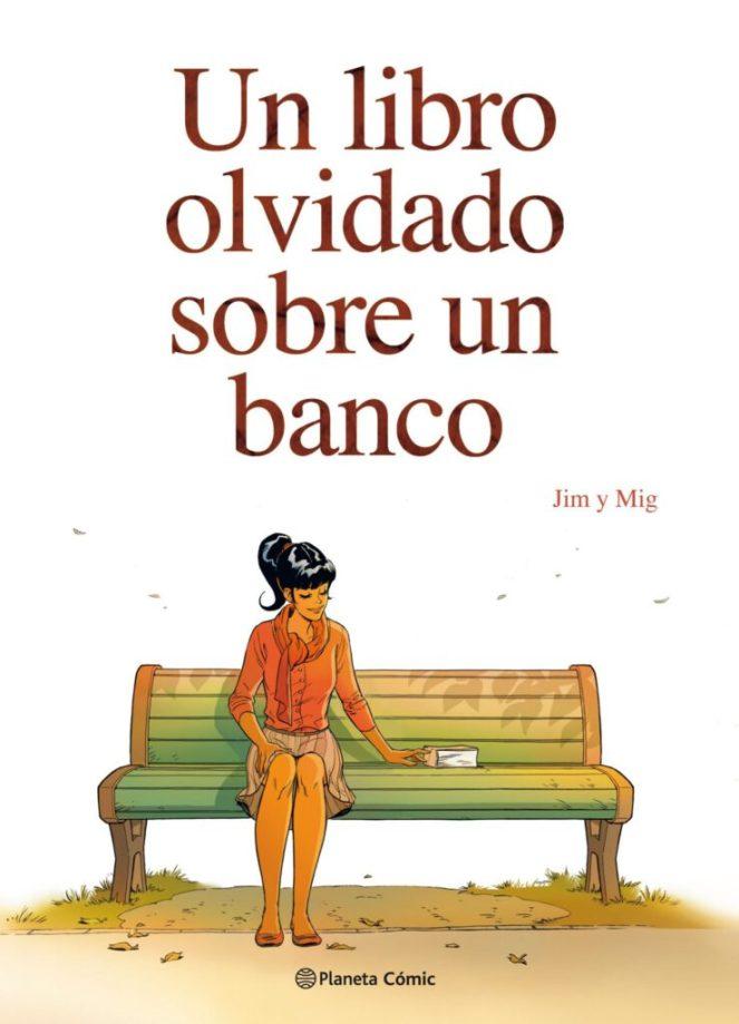 Un libro olvidado sobre un banco