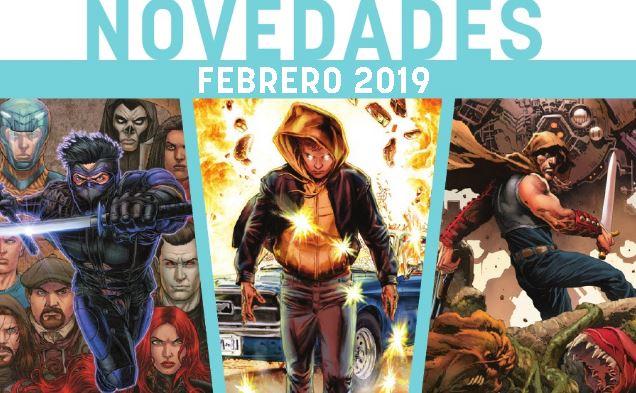 Novedades Medusa Cómics Febrero 2019