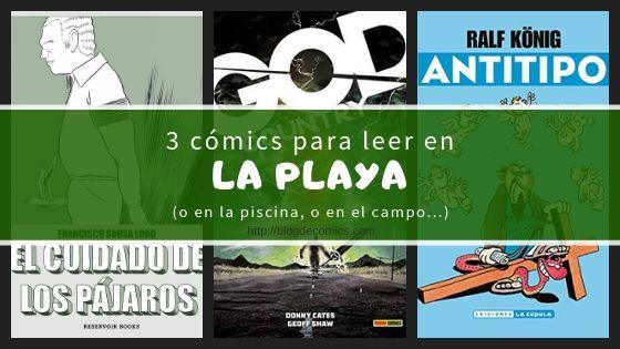 3 comics leer playa