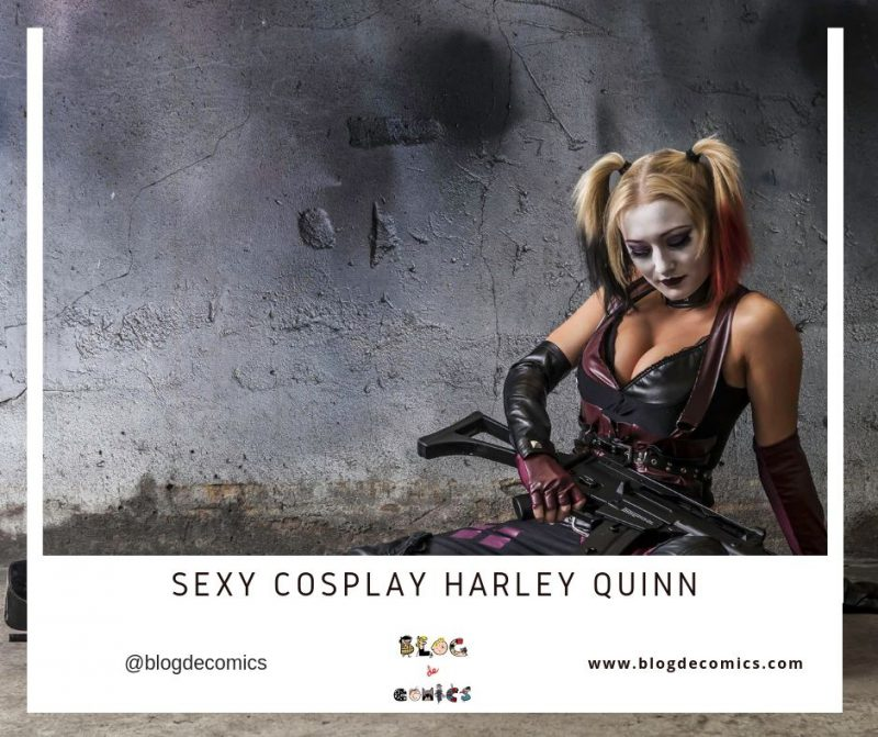 sexy cosplay harley quinn