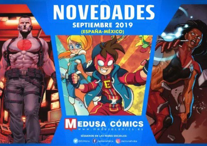 Novedades de Medusa Cómics para Septiembre de 2019
