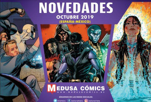 Novedades de Medusa Cómics para Octubre de 2019