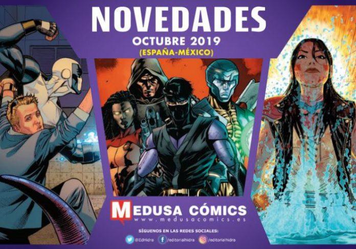 Novedades de Medusa Comics para Octubre de 2019