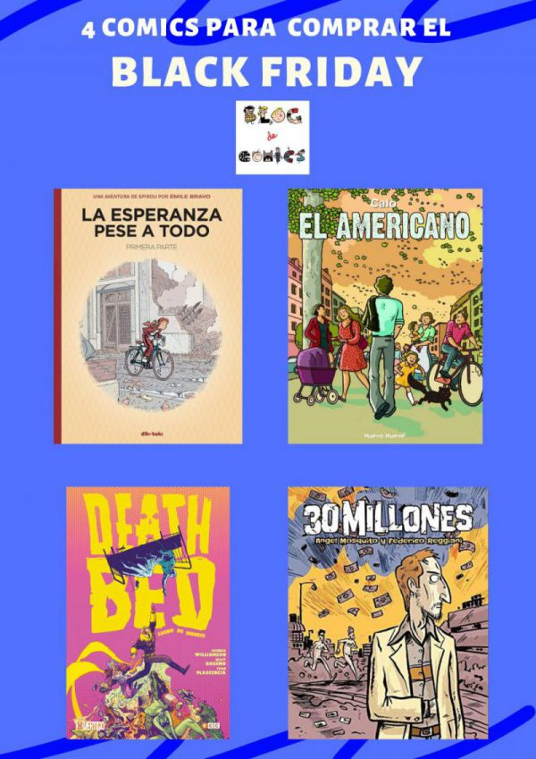 4 comics para comprar el black friday