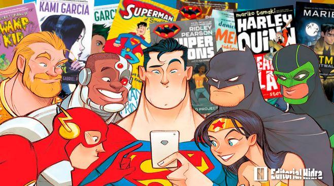 EDITORIAL HIDRA COMENZARÁ A PUBLICAR TÍTULOS DE DC COMICS EN 2020