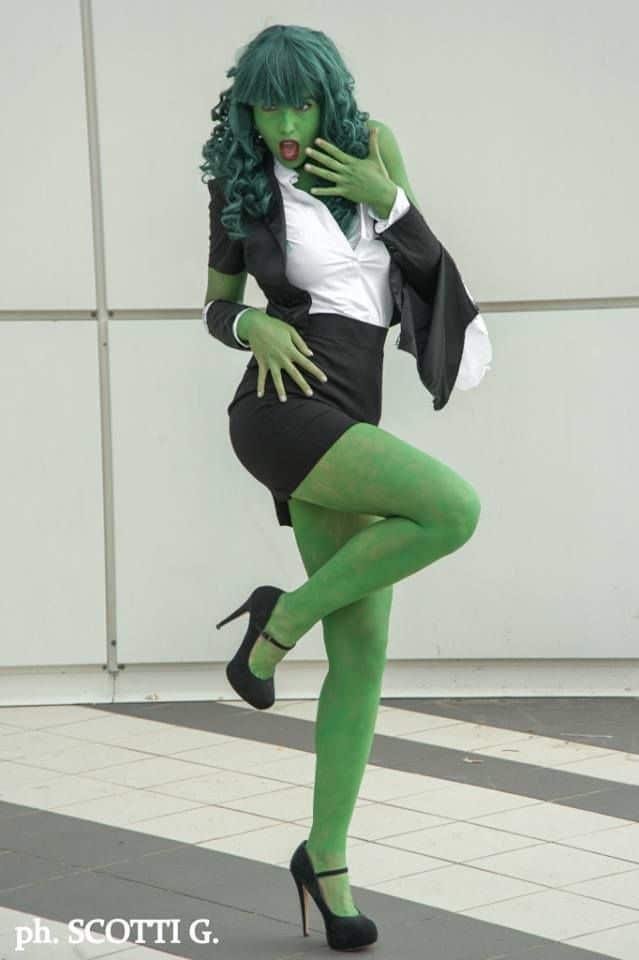 Cosplay de Hulka