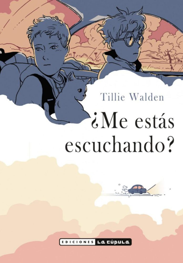 Novedades La Cupula Mayo 2020 - Tillie-Walden-Me-estás-escuchando-portada
