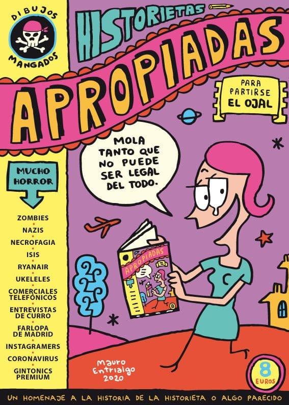 Historietas apropiadas. El nuevo cómic de Mauro Entrialgo mediante crowdfunding
