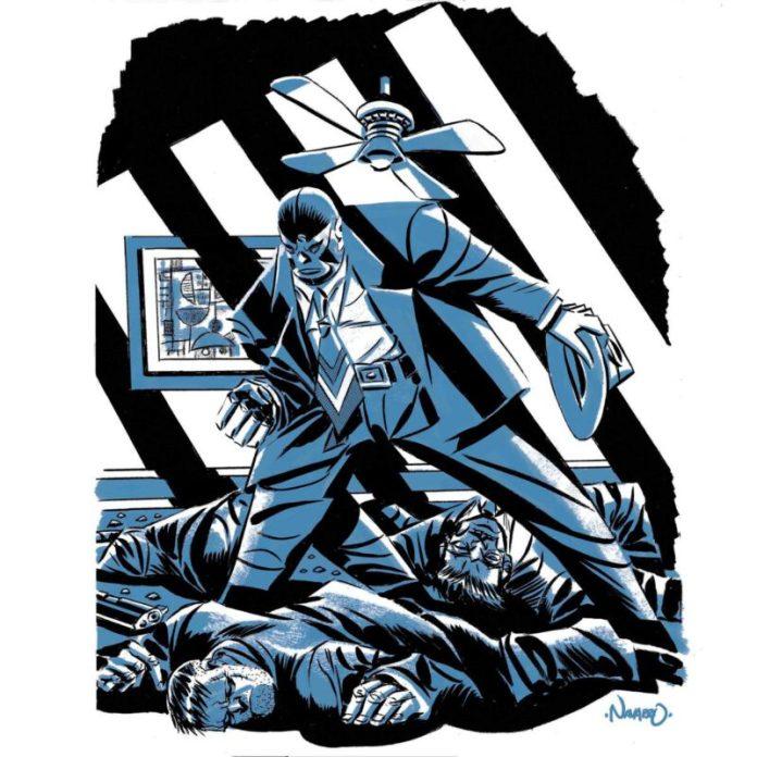 Luchadores Enmascarados Rafael Navarro 1200
