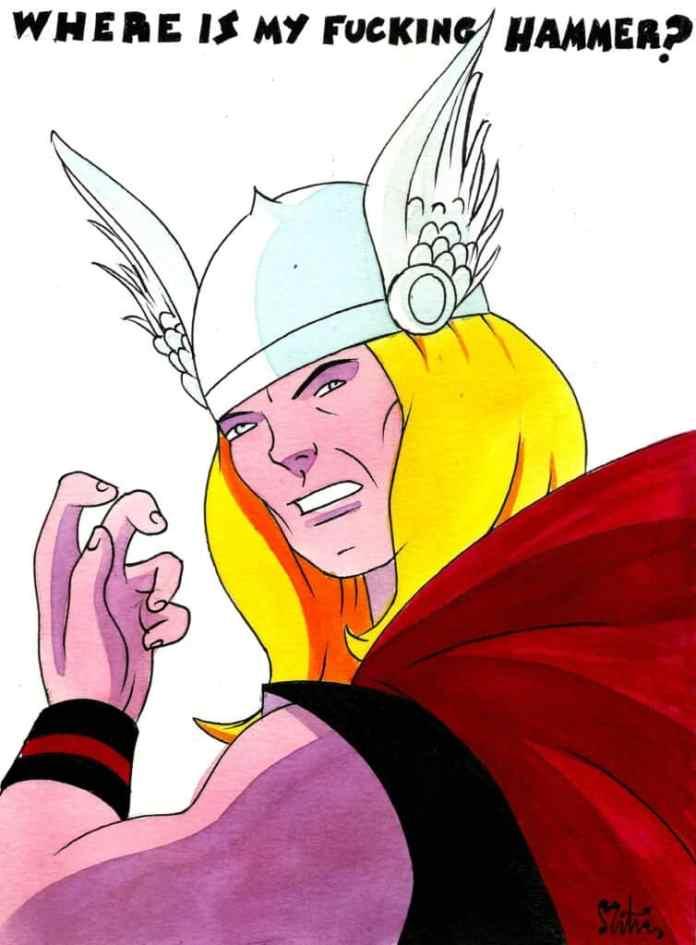 La otra cara de los superhéroes, por M.A. Martín. Hoy: Thor