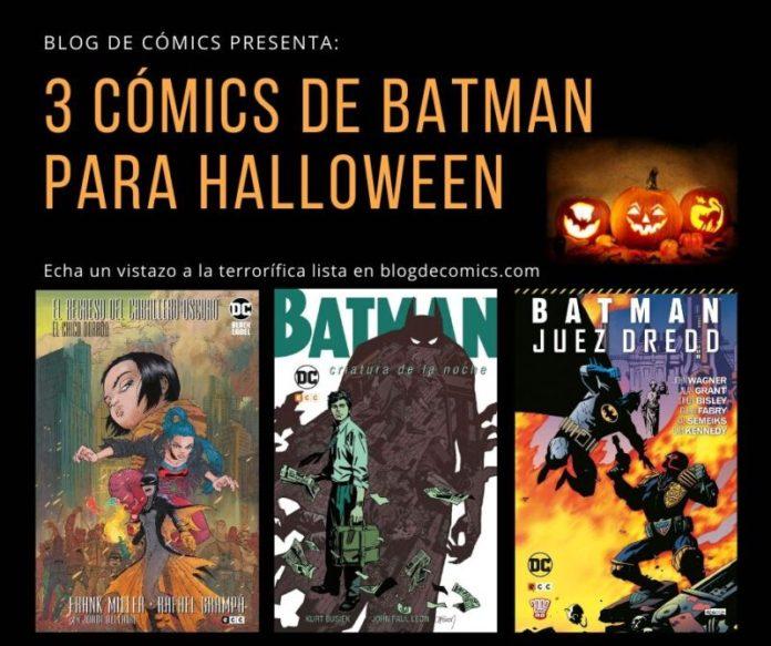 3 comics de Batman para Halloween