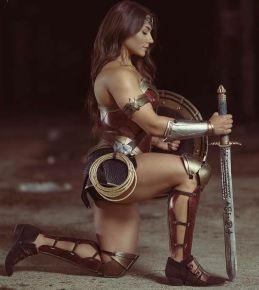 Cosplay de Wonder Woman 00