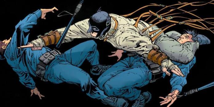 Batman el ultimo caballero en la tierra viñeta