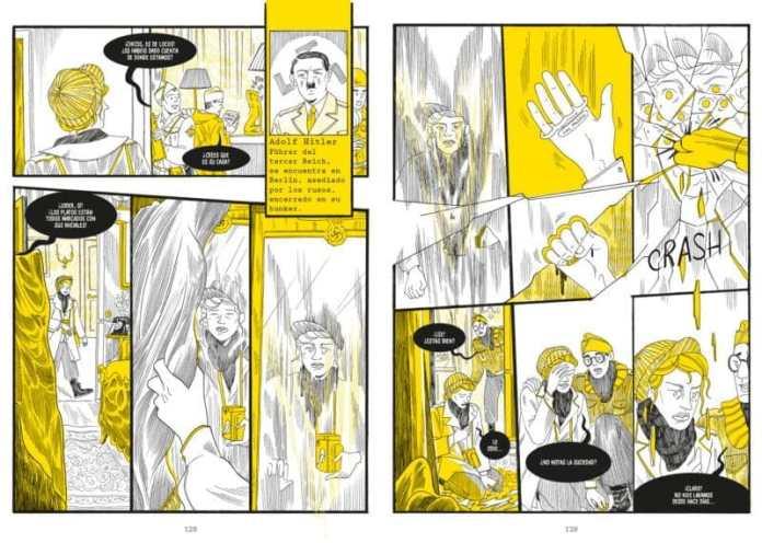 Lee Miller cinco retratos comic liana editorial