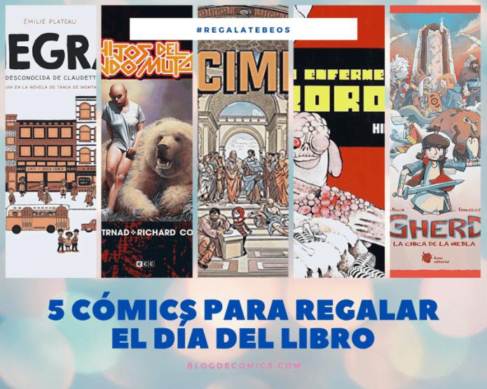 5 cómics para regalar el Día del Libro