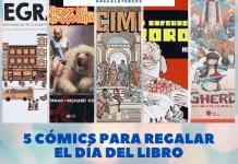 5 comics para regalar el dia del libro